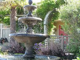 Backyard Layout Ideas Stunning Fountain For Backyard Water Fountains Front Yard And