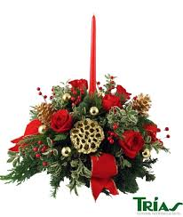 joys of christmas centerpiece trias flowers miami fl