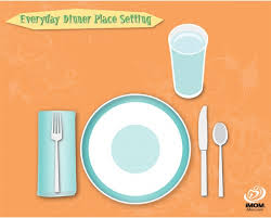 how do you set a table properly setting a table for dummies the emeals blog set a table