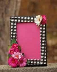 decorative picture frame picture frame pink picture frame
