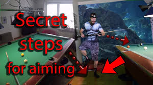 secret steps for aiming aim like a pool pro quickly youtube