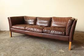 Midcentury Leather Sofa Marty U0027s Fiber Musings A Fabulous Seating Find At Walmart