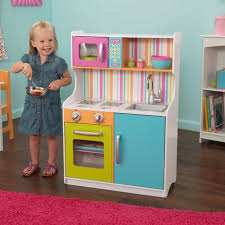 cuisine bois kidkraft cuisine enfant aux couleurs vives en bois jouet imitation