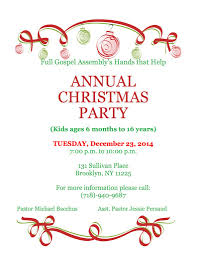 annual christmas party community board 9 in brooklyn new york