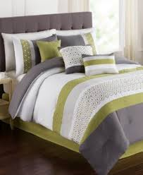 green bed set closeout grove 7 piece queen embroidered comforter set bed in a