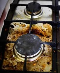 Spider Burners by How To Clean An Oven From The Stove Top To Between The Glass In