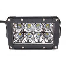 6 inch light bar quake led ultra series light bar 6 inch 24 watt