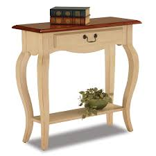 Ivory Console Table Leick Console Table Ivory Finish Kitchen