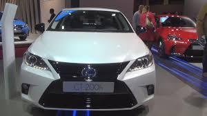 lexus ct200h plug in lexus ct 200h sport edition 2017 exterior and interior youtube