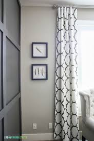 windsor smith riad in clove curtains batten board and walls