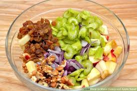 Celery Salad How To Make Celery And Apple Salad 7 Steps With Pictures