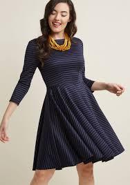 sleeve dress closet london flourishing finesse 3 4 sleeve dress modcloth