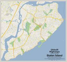 New York Boroughs Map by Maps Show How Robert Moses Would Have Destroyed The City With