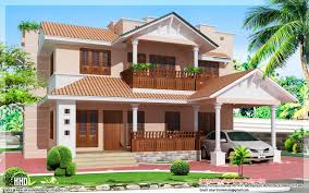Kerala Home Design Plan And Elevation Villa Homes 1900 Sq Feet Kerala Style 4 Bedroom Villa Kerala