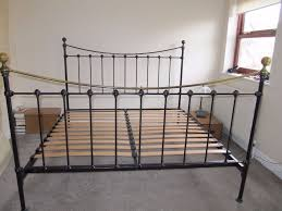 Iron Frame Beds by Prestige Premium Metal Frame Queen King The Sleep Shop With King