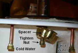 replacing kitchen faucet how to install a kitchen sink in 6 easy steps diy repair