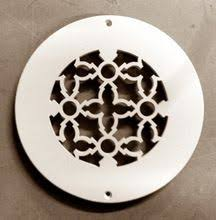 Round Ceiling Vent Covers by Iron Round Floor Ceiling Or Wall Grate For Return Air Intake Or