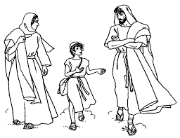 pages of the holy family