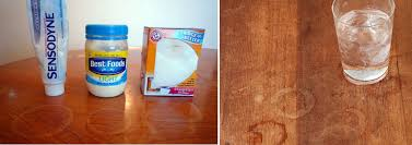 how to get water stains out of wood hirerush