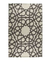 Global Views Arabesque Rug Global Views Rose Window Rug 5 U0027 X 8 U0027
