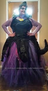 Ursula Costume Homemade Ursula Costume