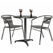 Aluminium Bistro Chairs Metal Patio Sets