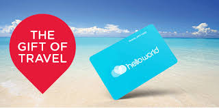 travel gift card card with helloworld nz