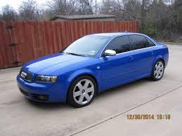 2004 audi s4 blue 2004 audi s4 quattro sedan 64k nogaro blue nogaro blue
