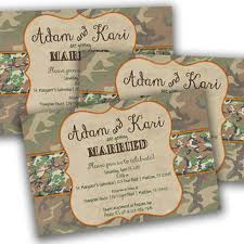 camo wedding invitations best camo invitations products on wanelo