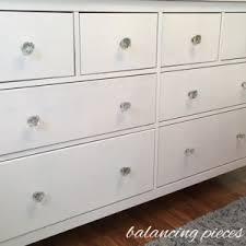 nursery dresser organization balancing pieces