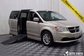 dodge grand caravan wheelchair vans for sale ams vans