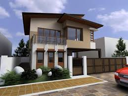 Small Modern Asian House Exterior Designs Architecture - Exterior modern home design
