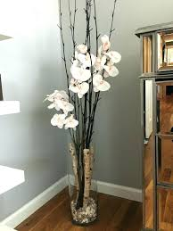 fake flowers for home decor home decor flower arrangements lecoledupain com