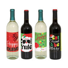 wine bottle gift labels decorations