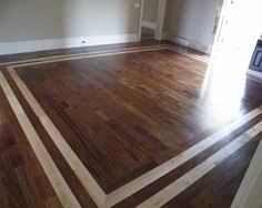 Hardwood Floor Borders Ideas Dining Room Floor With Contrasting Border Remodeling Pinterest