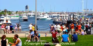 boston tourist map boston sightseeing map boston discovery guide