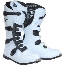 blue dirt bike boots wulf track star motocross boots off road mx moto sports dirt bike