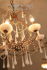 Opaline Chandelier 47 Best Opaline Obsession Images On Pinterest Opaline Crystal