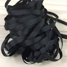 black grosgrain ribbon 10yard black grosgrain ribbon wedding decoration diy baby bow gift