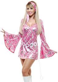 halloween dance costumes womens pink disco queen short skirt dress 70 u0027s dance costume