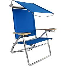Rio Sand Chairs Canopy Hi Seat Aluminum Beach Chair Pacific Blue Canopy Beach