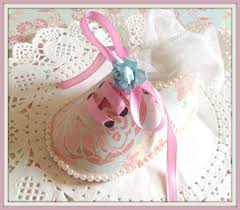 baby shower shoe shaped party favour tutorial youtube