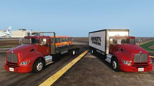 kenworth truck 2012 2012 kenworth t440 box flatbed truck template gta5 mods com