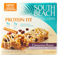 south beach diet protein fit bars cinnamon raisin https www