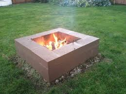 Firepit Blocks How To Build A Pit With Cinder Blocks Pit Ideas