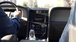 Lincoln Navigator 2015 Interior 2015 Lincoln Navigator Youtube