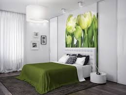 Green Striped Wallpaper Living Room Outstanding Apartment Bedroom Design With Green Striped Walls