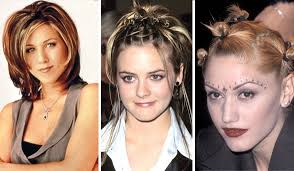 hair styles for women with long noses best and worst hair trends of the 90s