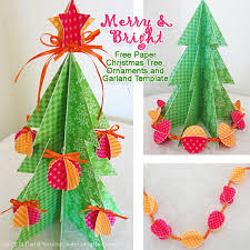 tree paper ornaments dogs cuteness decoration ideas