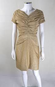 blanes designer gold evening dress 1950s dresses 50s dress